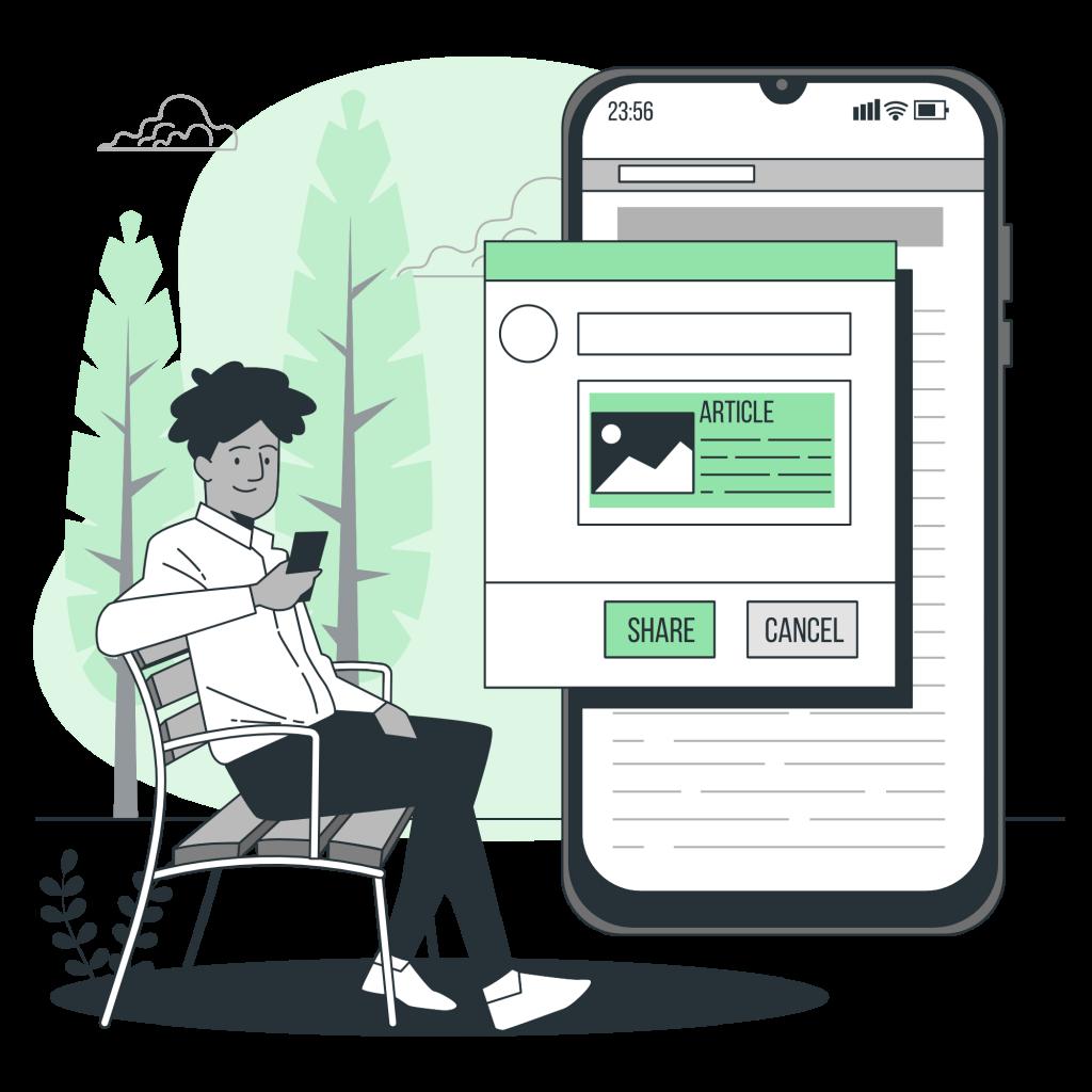 Compartir TPD - Tarjeta de Presentación Digital